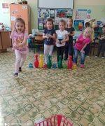 Zabawy sportowe przedszkolaków