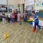 Zawody sportowe przedszkolaków