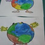 Praca plastyczna Ziemia