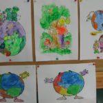 Galeria prac plastycznych dzieci dotyczące ochrony Ziemi
