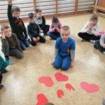 Walentynki u przedszkolaków
