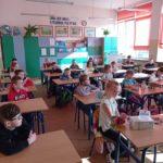 Spotkanie klasy I b z pedagogiem