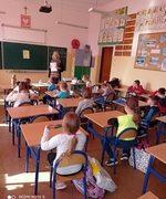Lekcja klasy z pedagogiem szkolnym