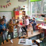 spotkanie czytelnicze w przedszkolu