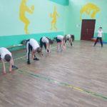 gimnastyka uczniów