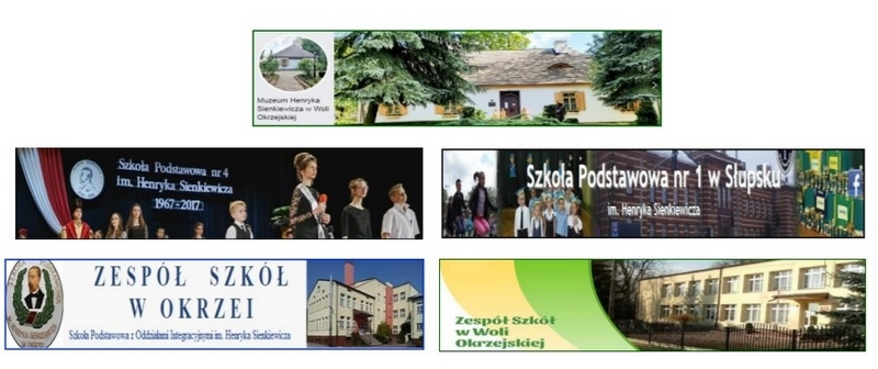 banery muzeum i szkół sienkiewiczowskich
