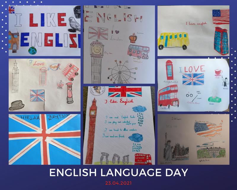 Plakaty na Dzień Języka Angielskiego
