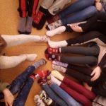 Światowy Dzień osób z zespołem Downa - dziecięce skarpety