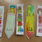 Zakładki do książek wykonane przez przedszkolaków