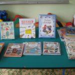 Wystawa książek w przedszkolu