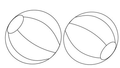piłki do kolrorowania