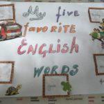 Plakat na Dzień Języka Angielskiego